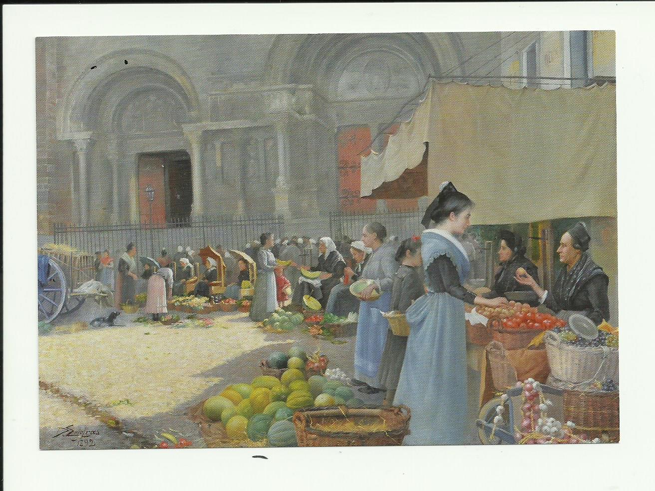huile sur toile 1892 Delphin Enjolras : collection F.R.P.